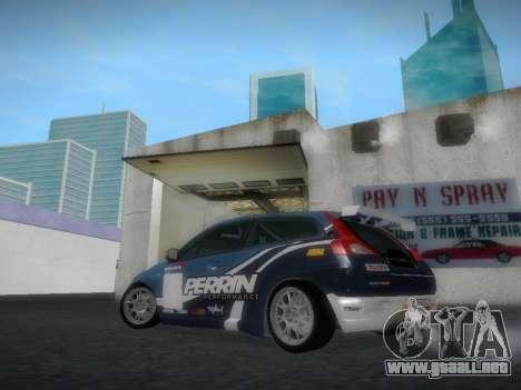 Volvo C30 Race para GTA San Andreas vista hacia atrás