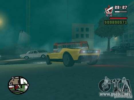 La bala de la GTA TBoGT IVF para vista lateral GTA San Andreas