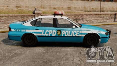 Declasse Merit Police Cruiser ELS para GTA 4 left
