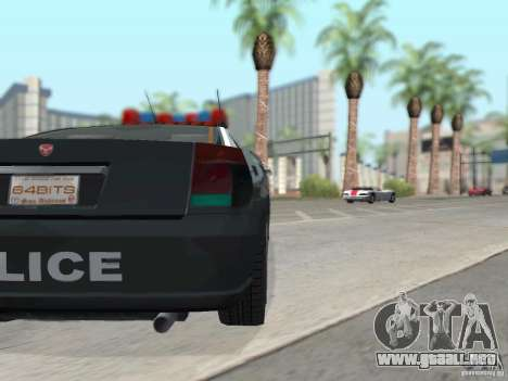 GTA 4 TBoGT de Buffalo para la vista superior GTA San Andreas