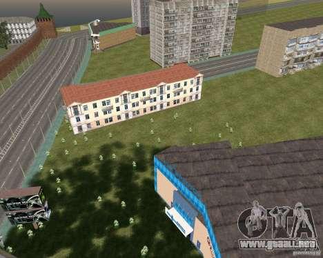 Nižegorodsk v0.1 BETA para GTA San Andreas segunda pantalla