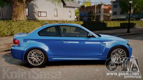 BMW 1M 2011 Carbon para GTA 4 left