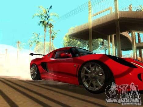 Lotus Exige 240R para la vista superior GTA San Andreas