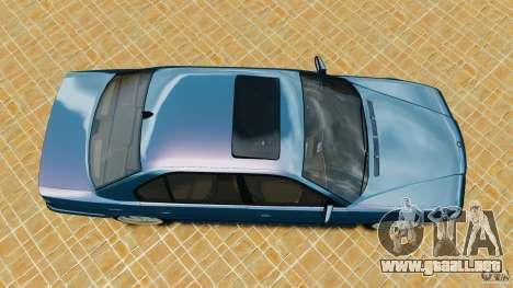 BMW 750iL E38 1998 para GTA 4 visión correcta