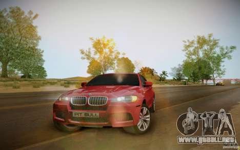 BMW X6 v1.1 para GTA San Andreas left