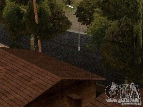 La nueva calle Grove para GTA San Andreas sucesivamente de pantalla