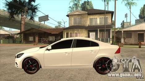 Volvo S60 para GTA San Andreas left