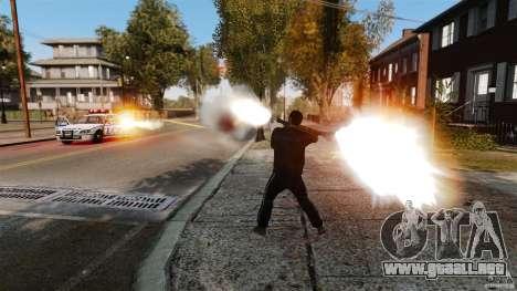 El daño real de armas para GTA 4 segundos de pantalla