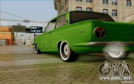 Lotus Cortina MK1 para la visión correcta GTA San Andreas