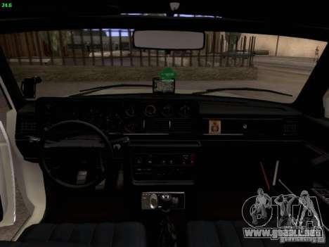 Volvo 242 Turbo para visión interna GTA San Andreas