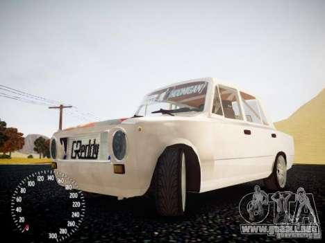 Edición de VAZ-2101 Drift para GTA 4 vista interior