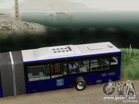 Trailer de diseño X 3 para visión interna GTA San Andreas