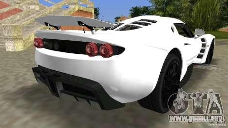 Hennessey Venom GT Spyder para GTA Vice City left