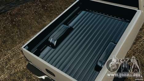 Chevrolet Silverado 2500 Lifted Edition 2000 para GTA 4 vista desde abajo