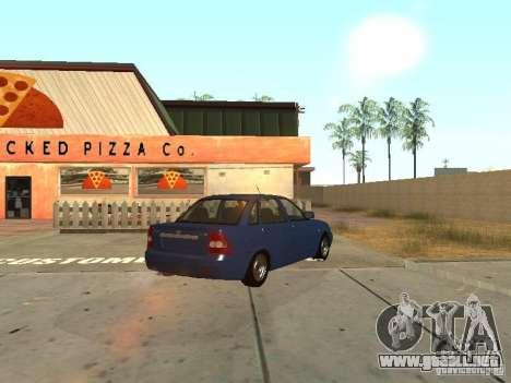 LADA 2170 drenaje para visión interna GTA San Andreas