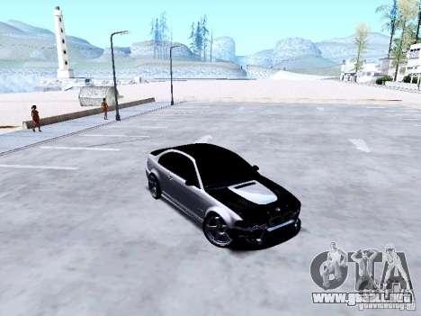 BMW 318i E46 Drift Style para visión interna GTA San Andreas