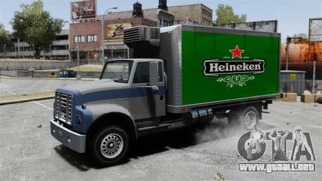 El nuevo anuncio para el carro Yankee para GTA 4 vista hacia atrás
