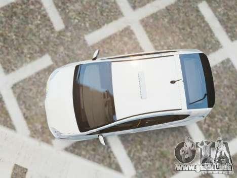Toyota Prius EKO TAXI (Hrvatski taxi) para GTA 4 visión correcta