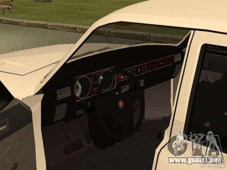 Volga GAZ 31013 para GTA San Andreas vista hacia atrás