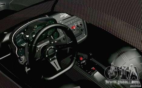 Pagani Zonda Cinque Roadster 2009 para GTA San Andreas