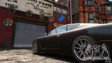 Super GTR Final para GTA 4 Vista posterior izquierda