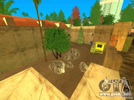 New Studio in LS para GTA San Andreas sucesivamente de pantalla