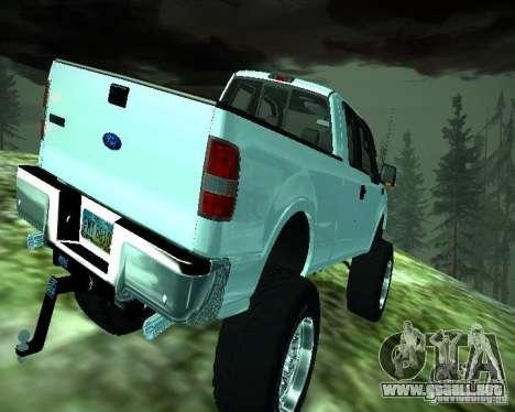 Ford F-150 EXT para la visión correcta GTA San Andreas