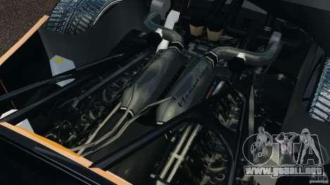 Hennessey Venom GT Spyder para GTA 4 vista hacia atrás
