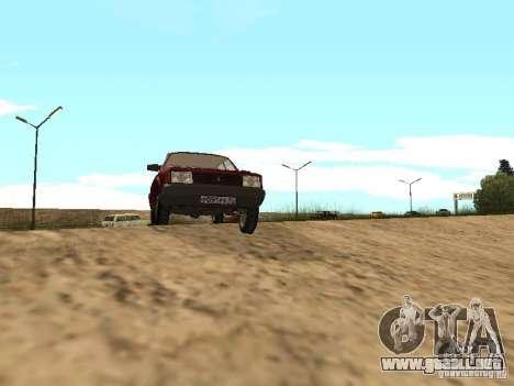 AZLK Moskvich 2141 para GTA San Andreas left