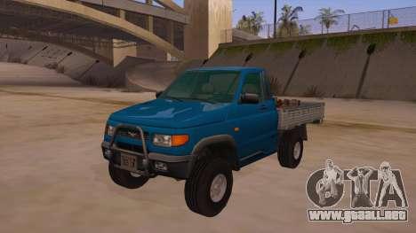UAZ-2360 para visión interna GTA San Andreas