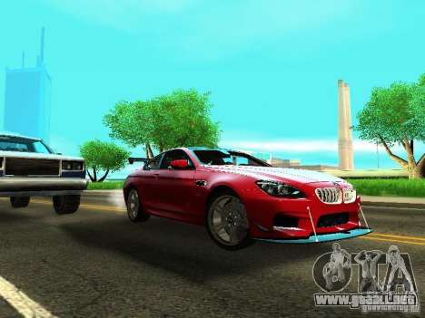 BMW M6 2013 para GTA San Andreas left
