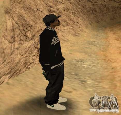 Piel Ryder para GTA San Andreas tercera pantalla