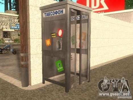 Aldea Stepanovo para GTA San Andreas segunda pantalla