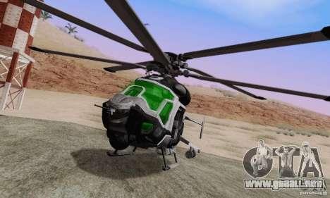 Helicóptero AH-2 Сrysis 50 C.E.L.L. para GTA San Andreas