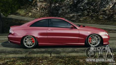 Mercedes-Benz CLK 63 AMG para GTA 4 left