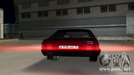 VAZ 21099 para GTA Vice City visión correcta