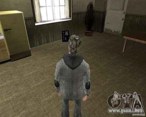 Alan Wake para GTA San Andreas tercera pantalla
