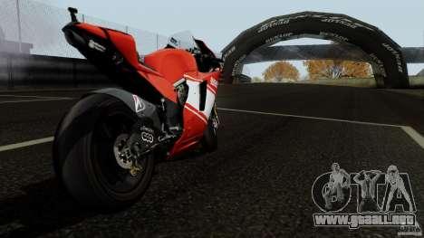 Ducati Desmosedici RR para la visión correcta GTA San Andreas