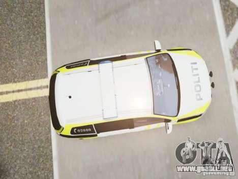 Volkswagen Passat B7 Variant 2012 para GTA 4 vista hacia atrás