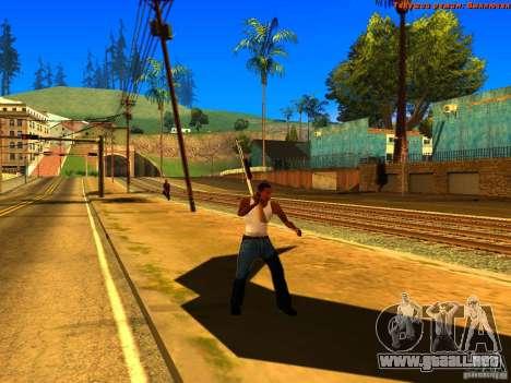 New Animations V1.0 para GTA San Andreas novena de pantalla