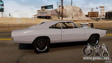 Dodge Charger RT 1970 para GTA 4 left
