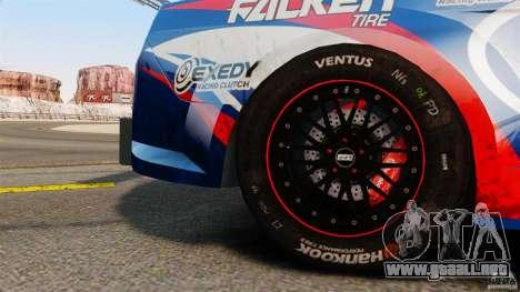 Ford Mustang 2010 GT1 para GTA 4 visión correcta