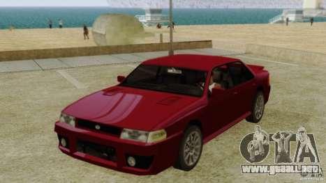 Sultan SRX para GTA San Andreas