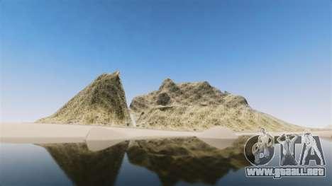 Pico de la montaña para GTA 4
