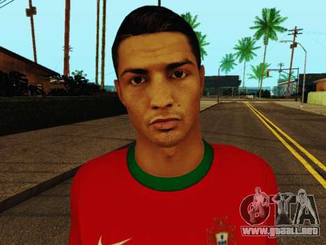 Cristiano Ronaldo v4 para GTA San Andreas sexta pantalla