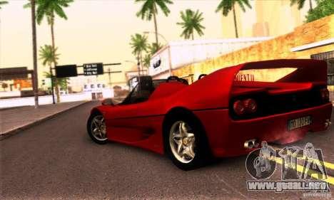 Ferrari F50 Spider para la visión correcta GTA San Andreas