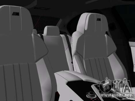 BMW M5 F10 2012 para las ruedas de GTA Vice City