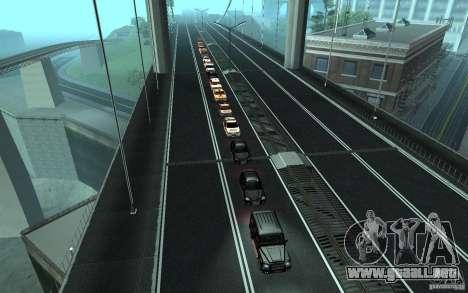 La caravana presidencial v. 1.2 para GTA San Andreas quinta pantalla