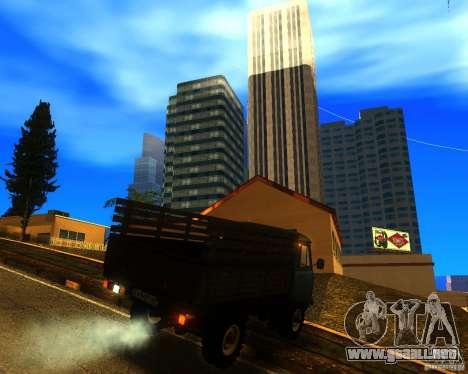UAZ 330364 para visión interna GTA San Andreas