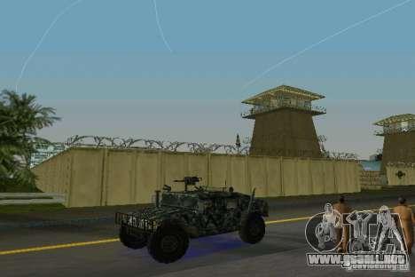 Hummer HMMWV M-998 1984 para GTA Vice City left